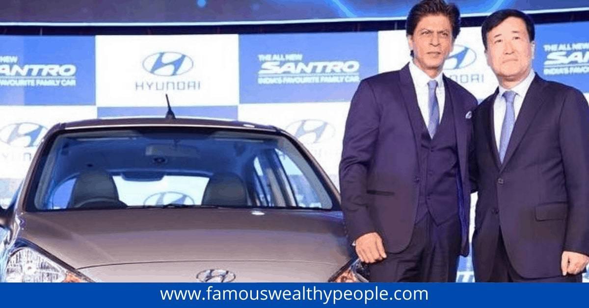 Car-Photos-of Shahrukh-Khan