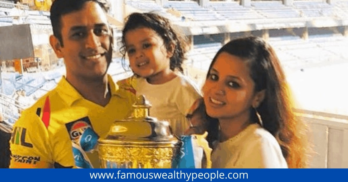 ms-dhoni-net worth-family-photos