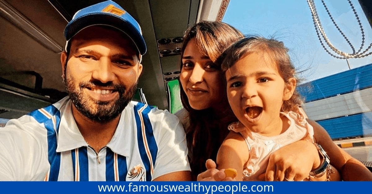 rohit sharma family photo