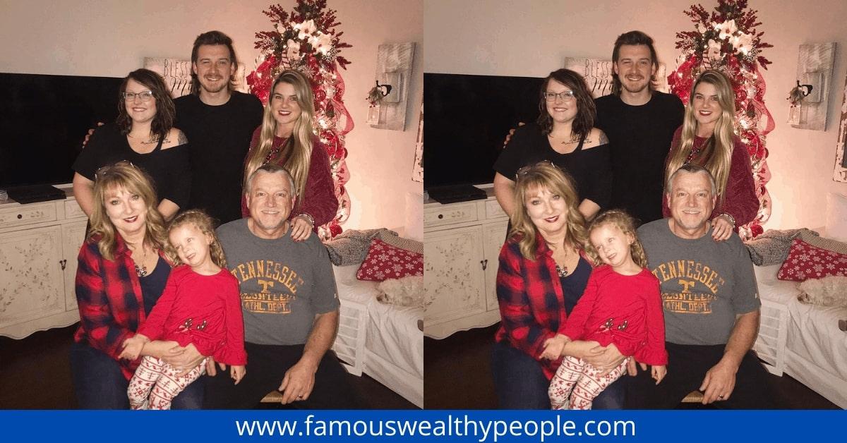 Morgan Wallen Family Photo