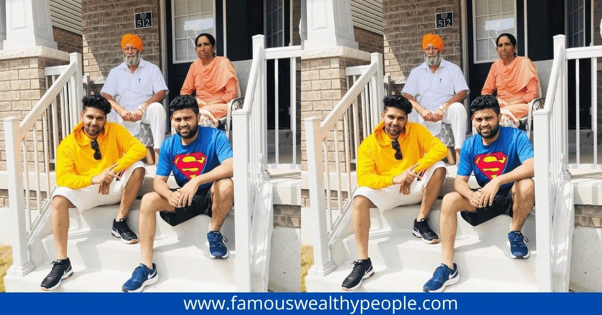 guru randhawa family photo